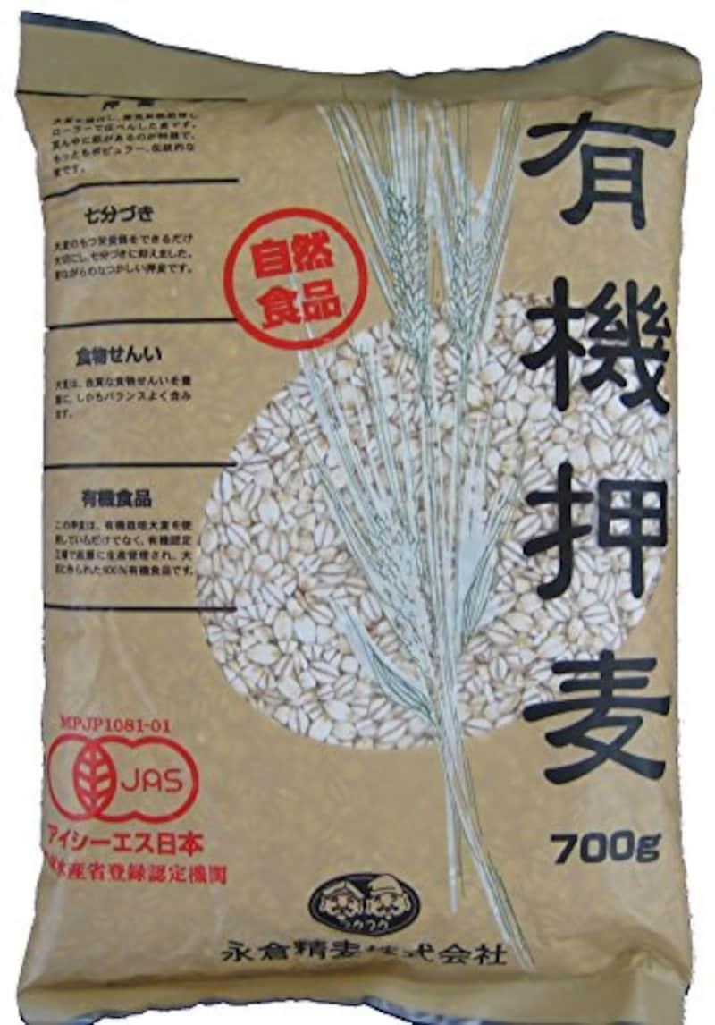 永倉精麦,有機押麦