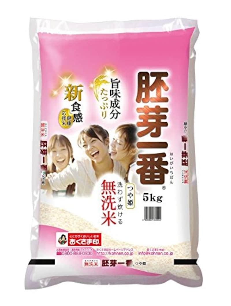 幸南食糧株式会社,無洗米つや姫 食物繊維が生きてるお米 胚芽一番