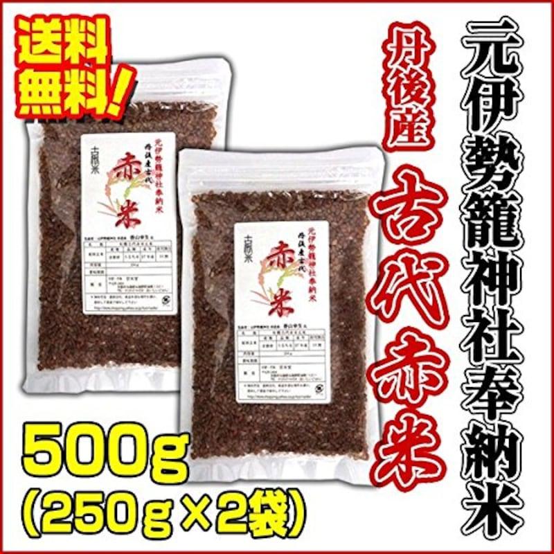 京米堂,古代赤米