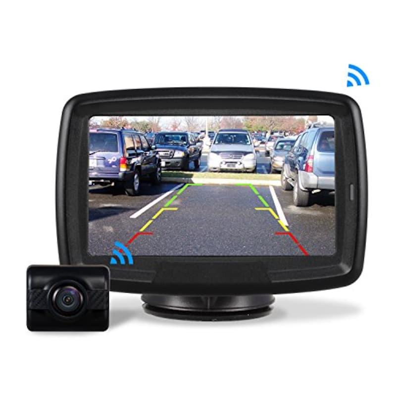 AUTO-VOX,バックモニター バックカメラ ワイヤレス,TD-2