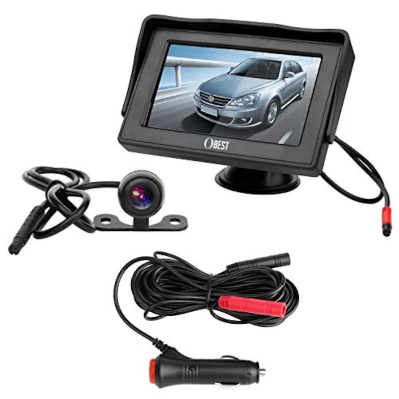 OBEST,LCDモニター バックカメラセット,C01