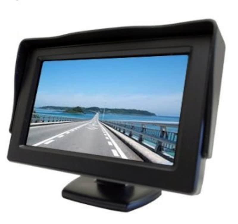 ノーブランド,2系統の映像入力 12V車用 ミニオンダッシュ液晶モニター