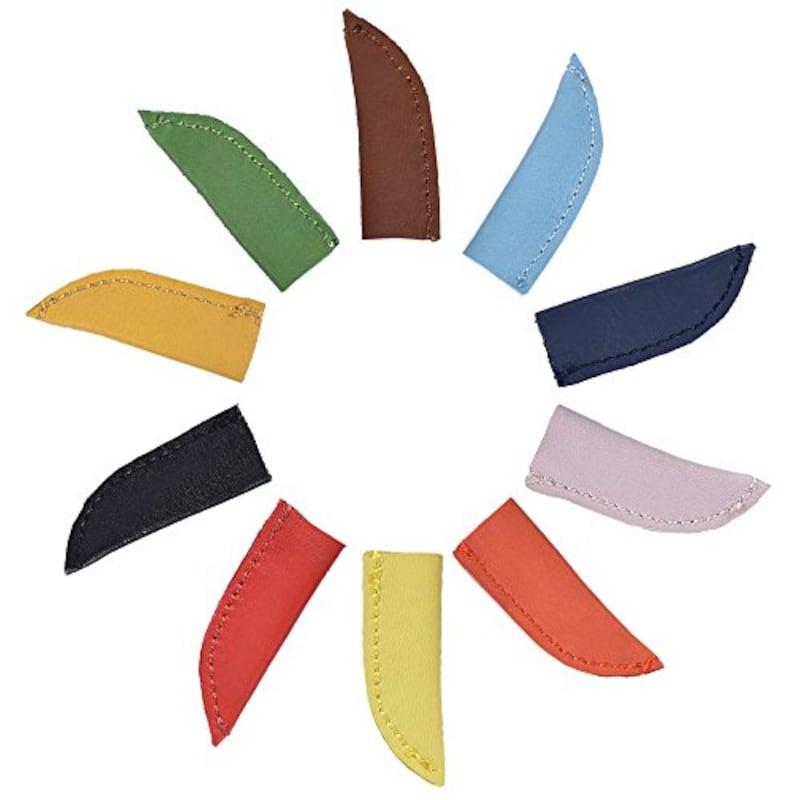 SAISAI,本革鉛筆キャップ 5色セット,ZK-PENCAP-LE-001