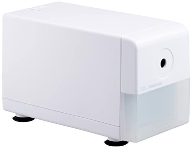 ナカバヤシ,電動鉛筆削りき スリムタイプ ホワイト,DPS-211W