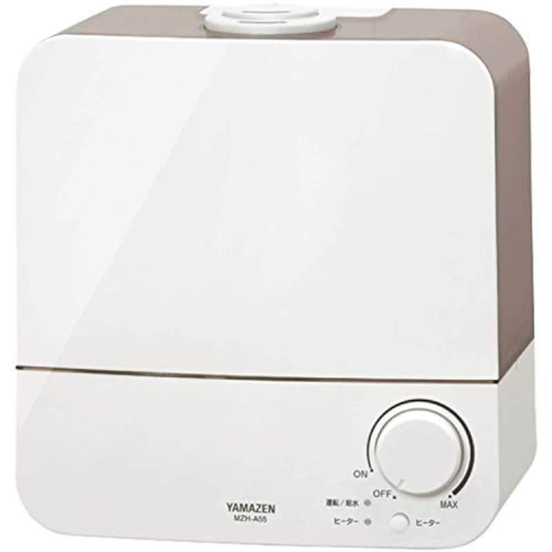 山善,超音波加熱式ハイブリッド加湿器,MZH-A552(H)