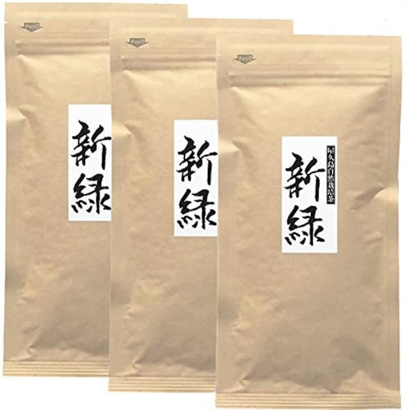 屋久島@深山園,屋久島産自然栽培茶 新緑