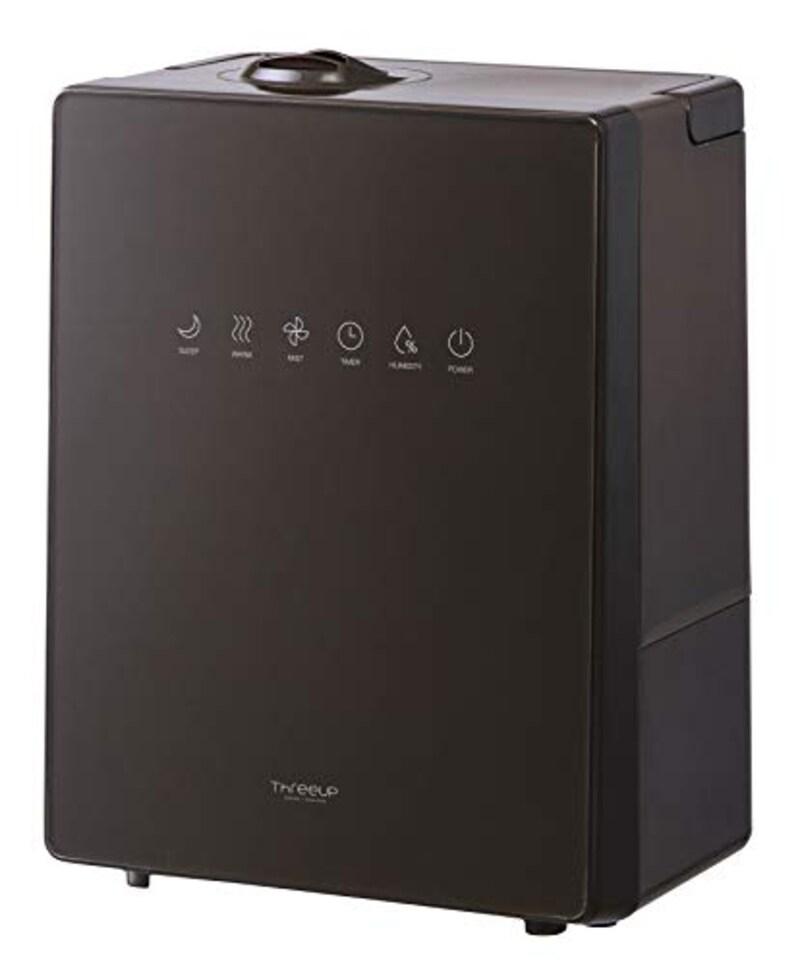 スリーアップ,ハイブリッド加湿器 NEWスクエアミスト,HB-T1825BR