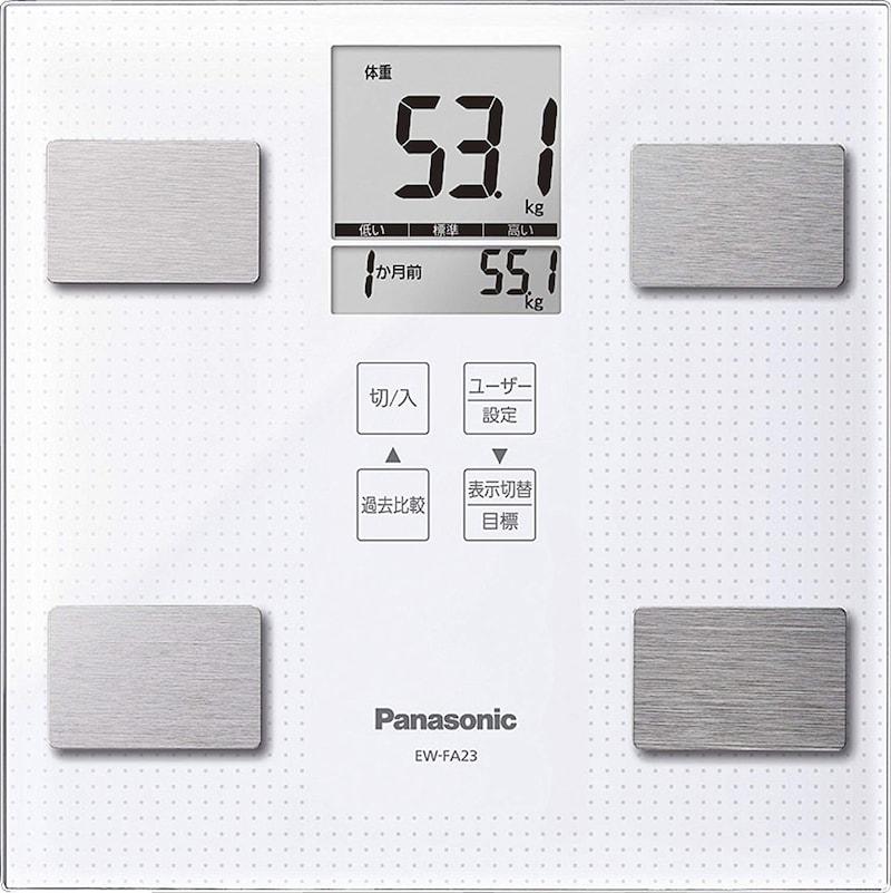 パナソニック,体重・体組成計,EW-FA23