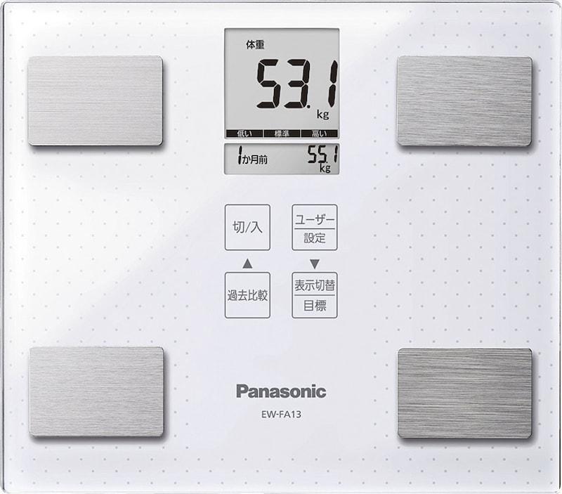 パナソニック,体重・体組成計,EW-FA13