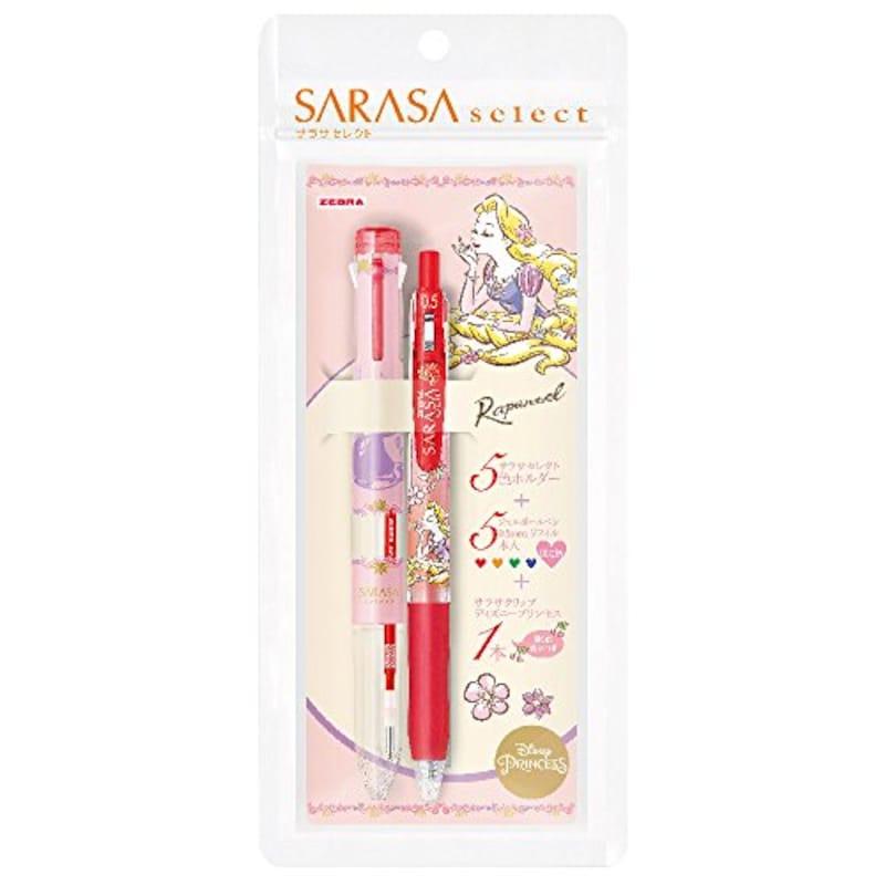 ゼブラ(ZEBRA),サラサセレクト ディズニープリンセス,SE-S5A20-DSP-RP