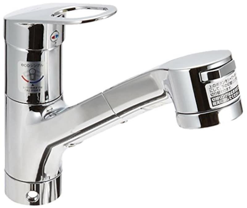 TOTO,キッチン用エコシングル水栓,TKGG32EBS
