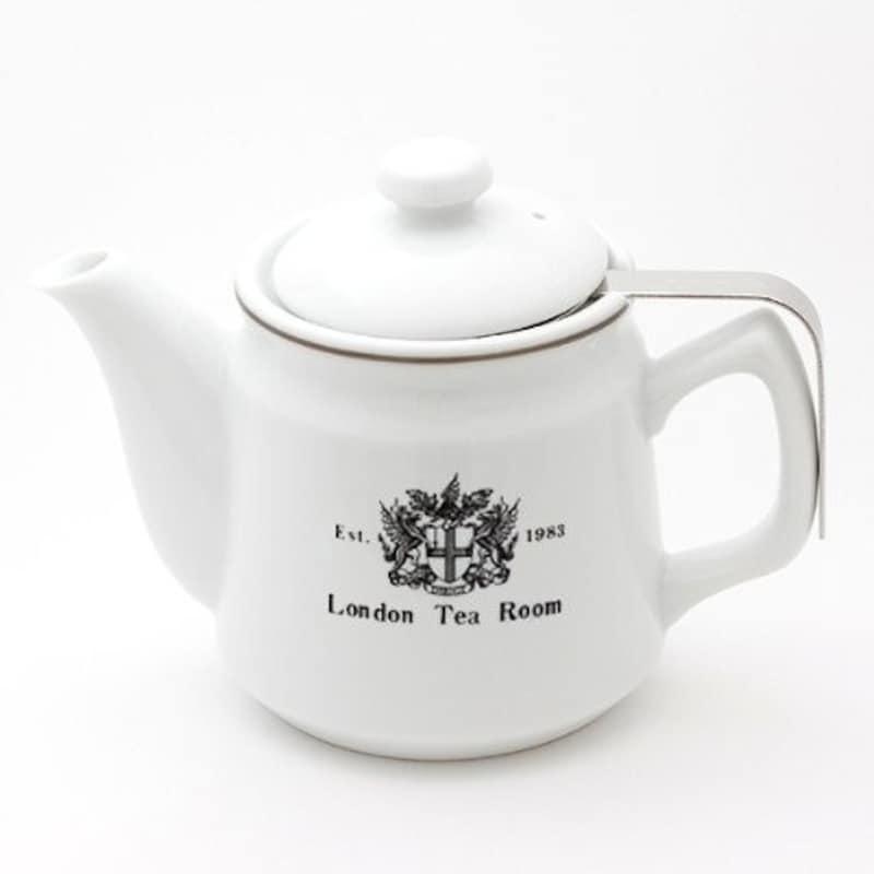 ロンドンティールーム,茶漉し付ティーポット,W-TP-B