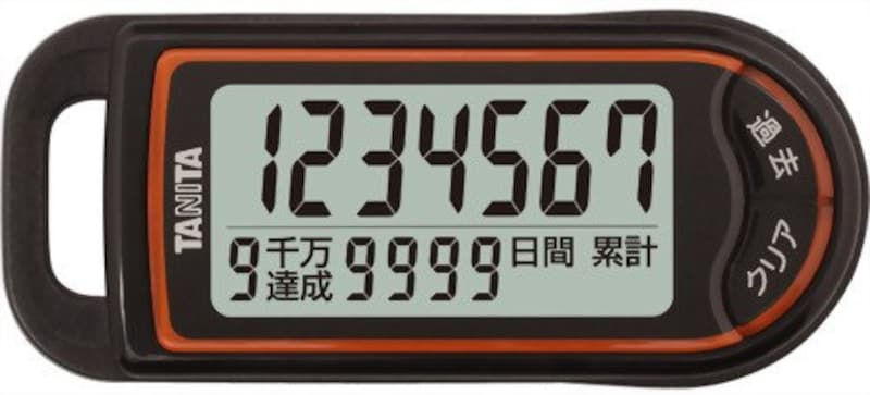 タニタ,3Dセンサー搭載歩数計 億歩計,FB-732