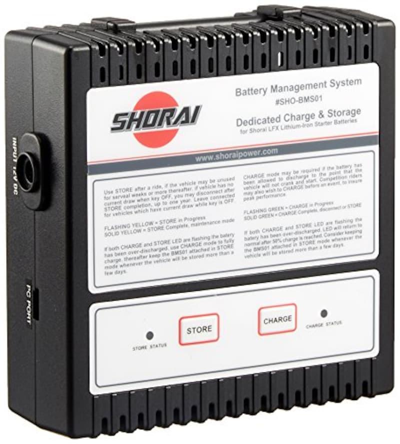 SHORAI,バッテリー充電器,SHO-BMS01-JP