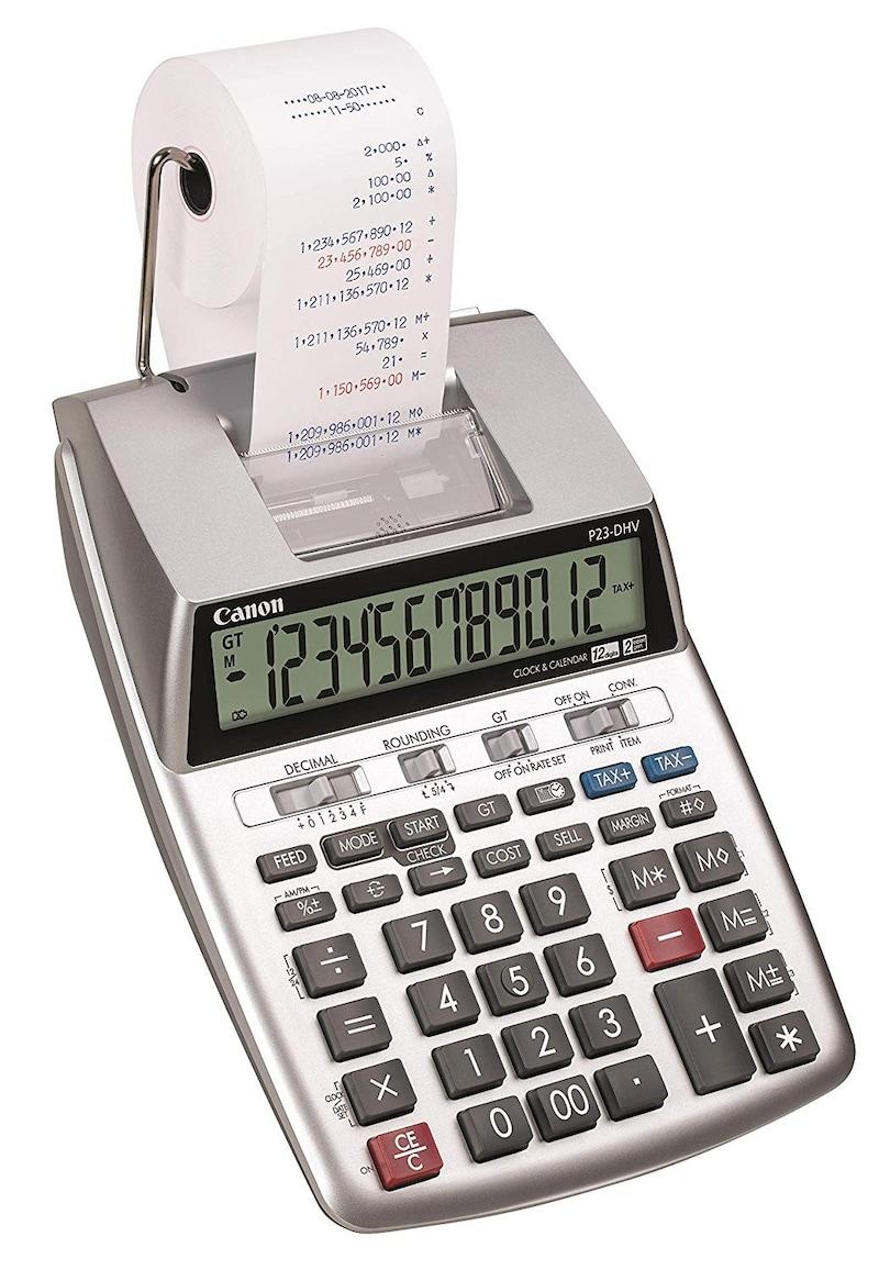 Canon(キヤノン),プリンタ電卓 加算式タイプ,P23-DHV-3