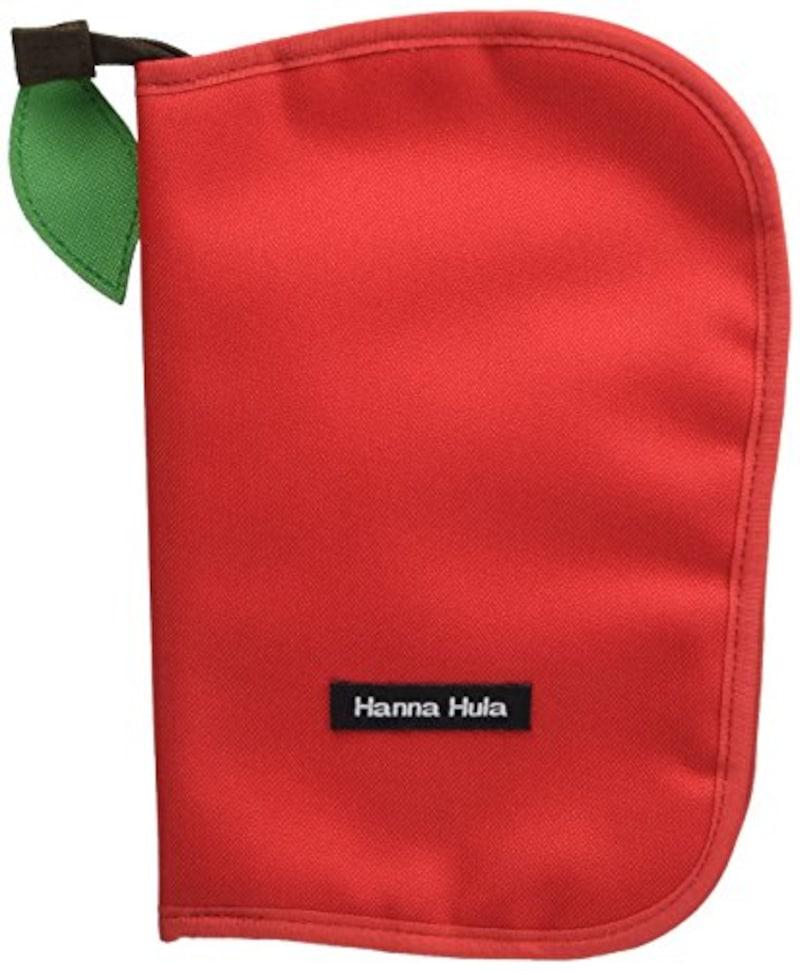 ハンナフラ,母子手帳ケース アップルレッド,CPBO-08-L