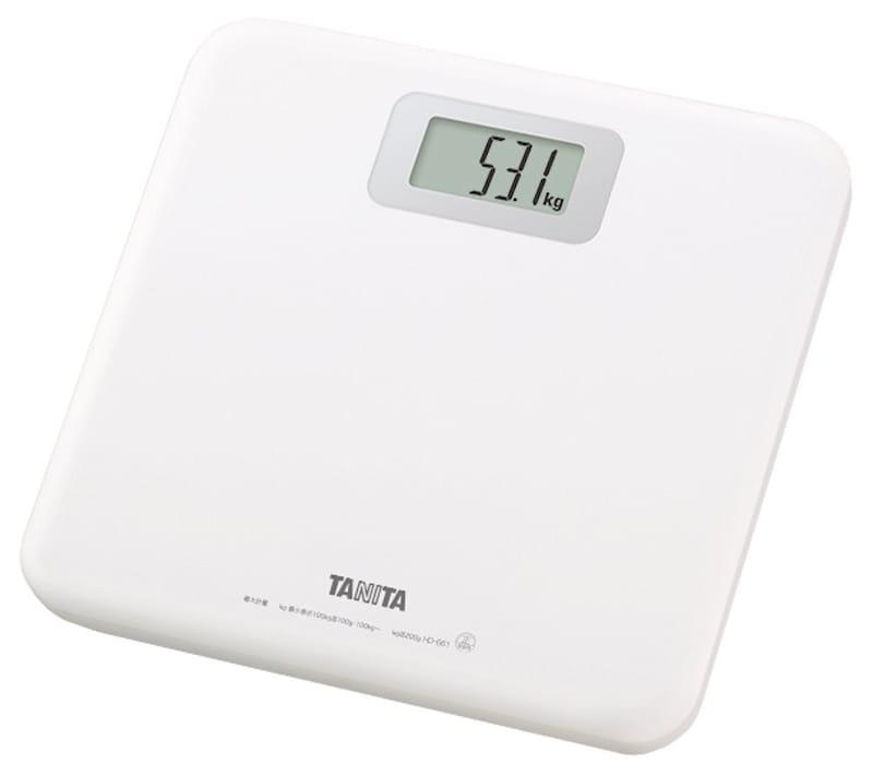 タニタ,体重計,HD-661-WH