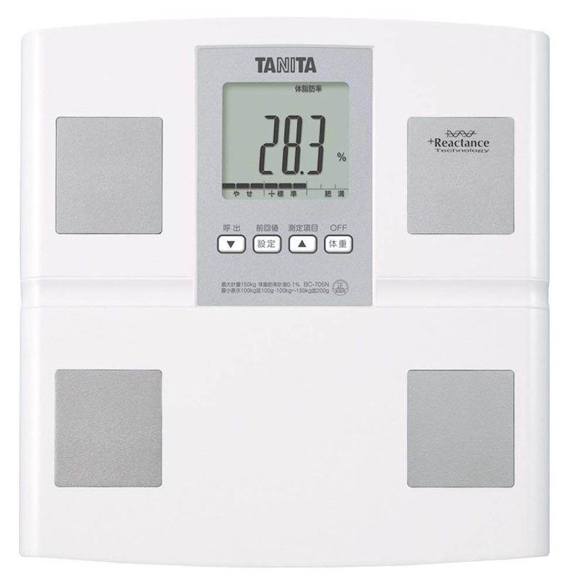 タニタ,体組成計,BC-705N-WH