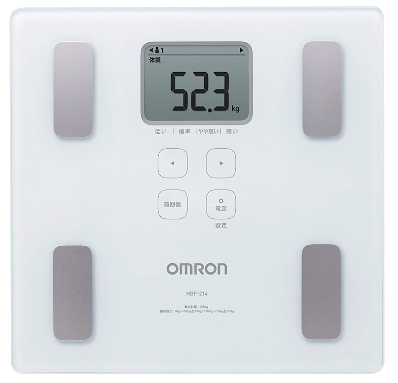 オムロン,カラダスキャン,HBF-214-W