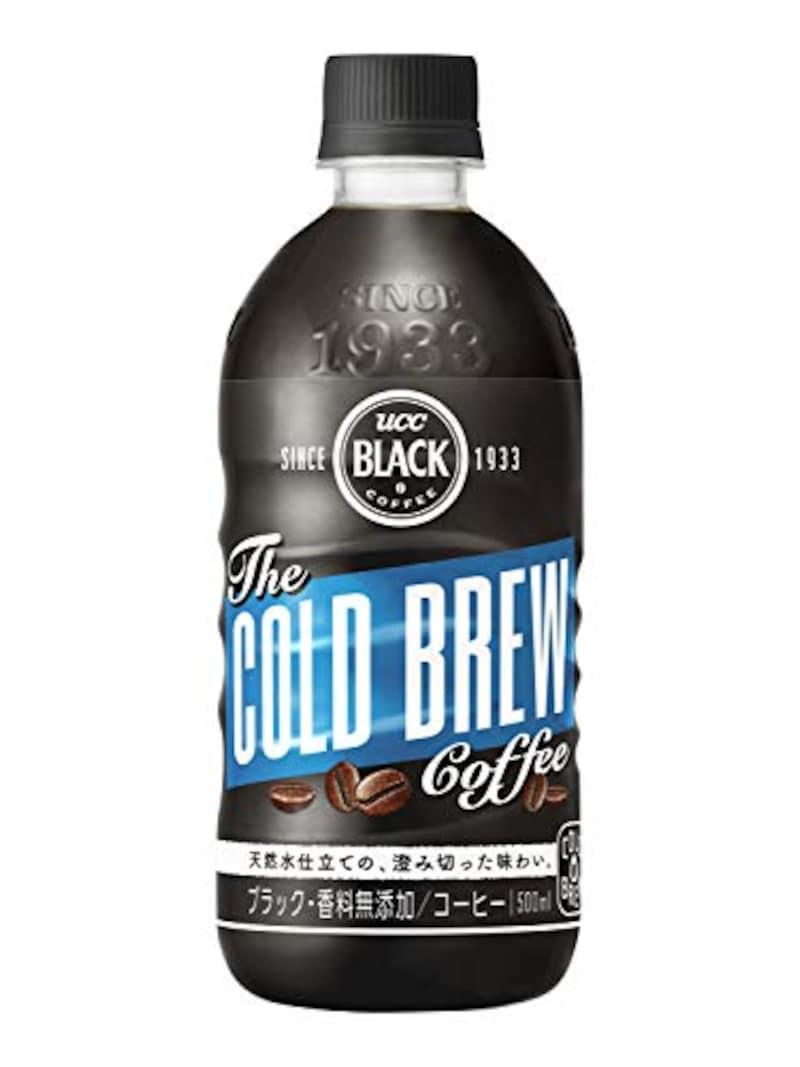 UCC,ブラック無糖 コールドブリュー 500ml×24本,4901201133435