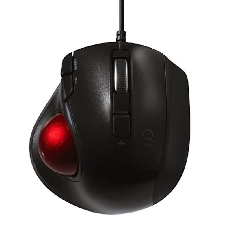 ナカバヤシ,Digio2 Q 有線 静音 5ボタン,MUS-TULF133