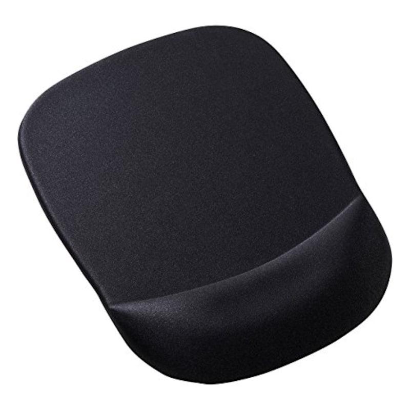 サンワサプライ,低反発リストレスト付きマウスパッド,MPD-MU1NBK