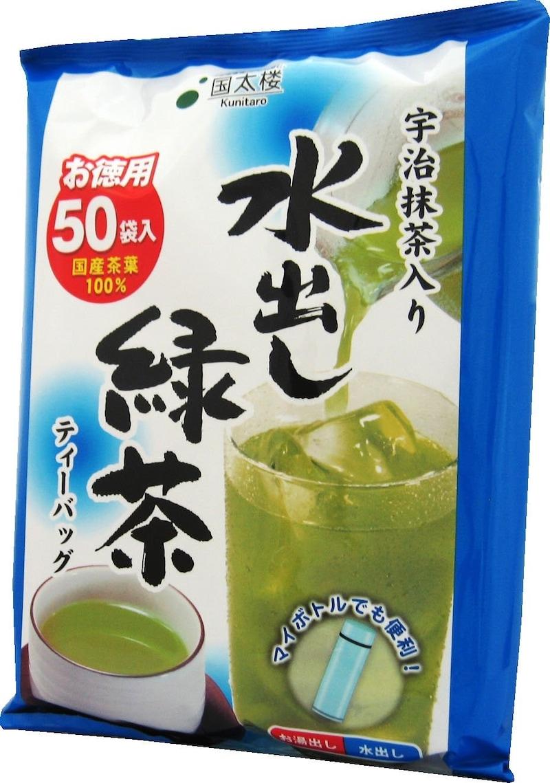 国太楼,国太楼 宇治抹茶入り 水出し緑茶 ティーバッグ