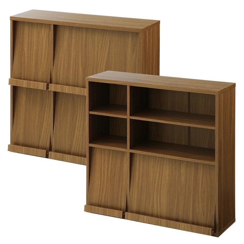 ぼん家具,ディスプレイラック 2台セット
