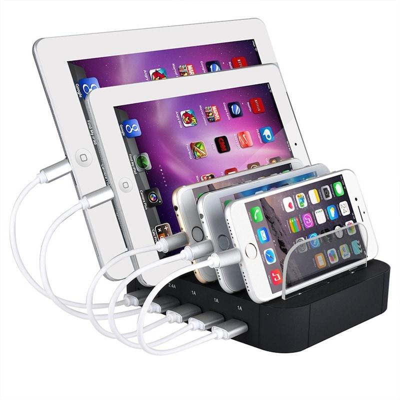 Evfun,USB充電スタンド,ZQ-L213D1