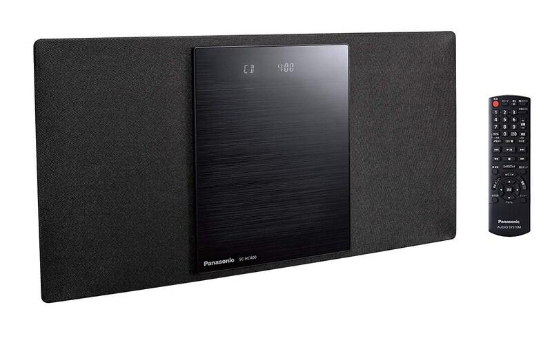 パナソニック,ミニコンポ,SC-HC400-K