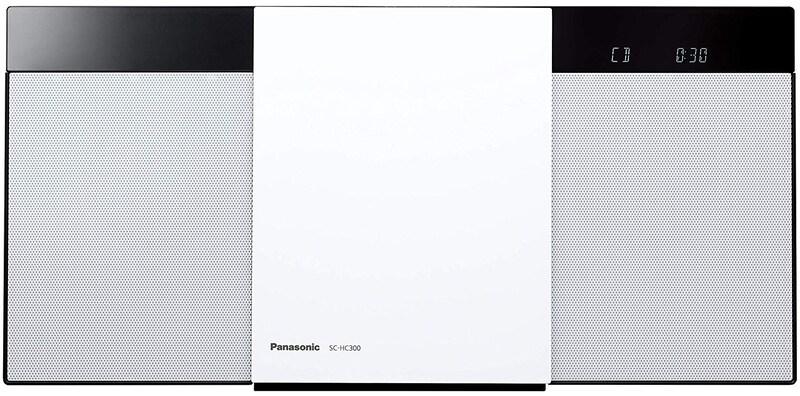 パナソニック,ミニコンポ,SC-HC300-W