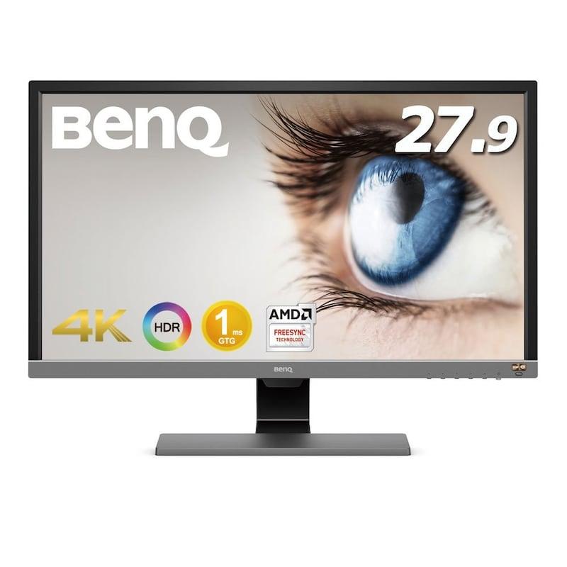 BenQ ,ゲーミングモニター ディスプレイ  27.9インチ/4K/FreeSync対応,EL2870U