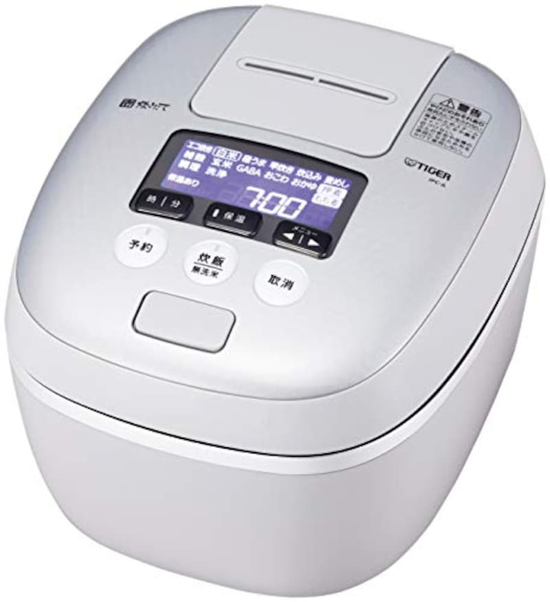 象印マホービン,圧力IH式 炊飯器,JPC-A101-WH