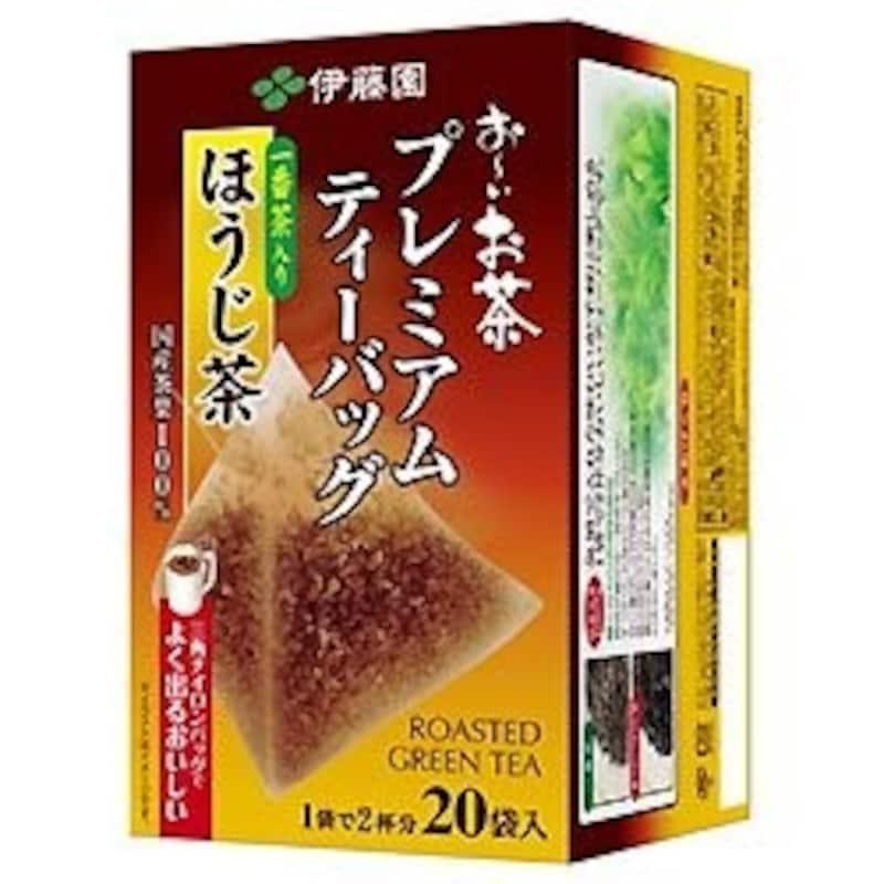 伊藤園,伊藤園 お~いお茶 プレミアムティーバッグ 一番茶入りほうじ茶