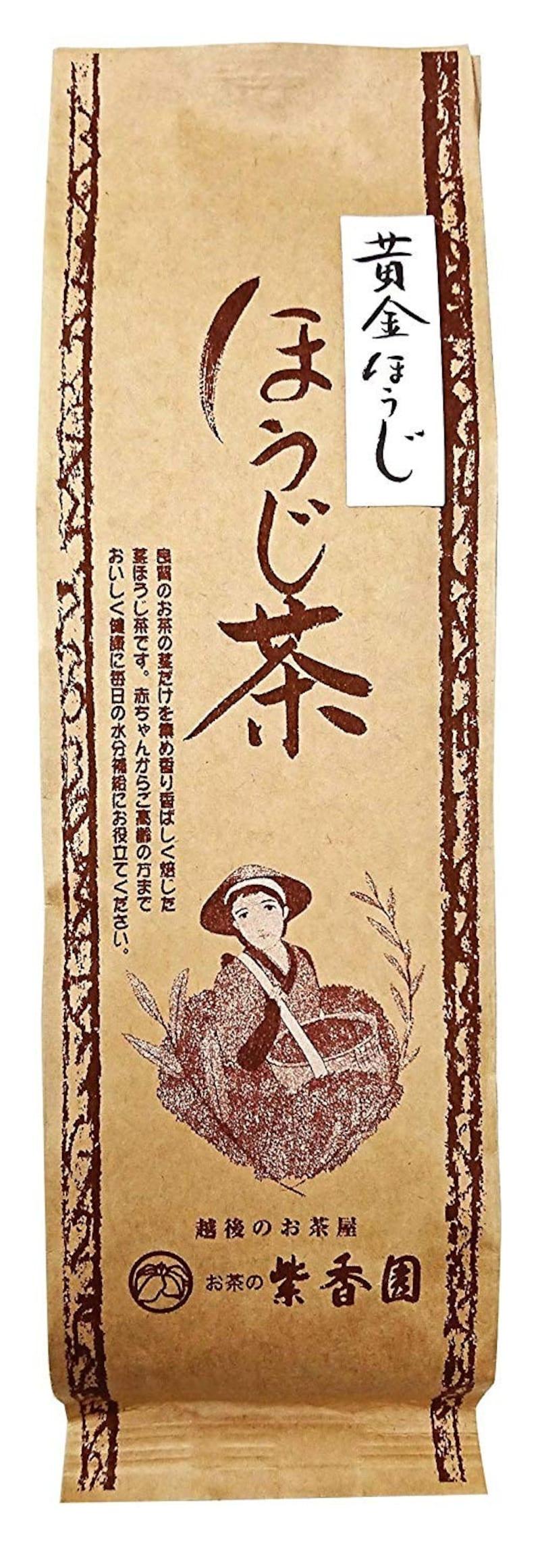 お茶の紫香園,ほうじ茶 100g (黄金ほうじ)