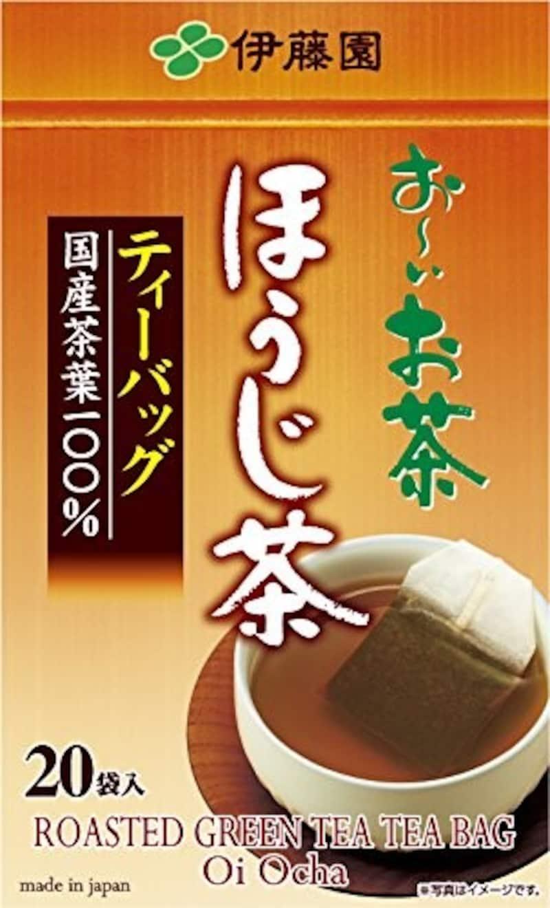 伊藤園, おーいお茶 ほうじ茶 ティーバッグ 20袋