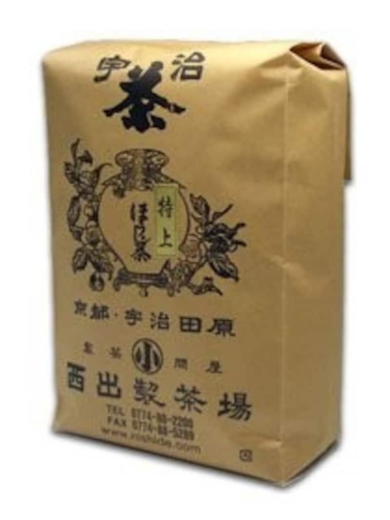 西出製茶場,宇治茶専門店の「特上ほうじ茶」