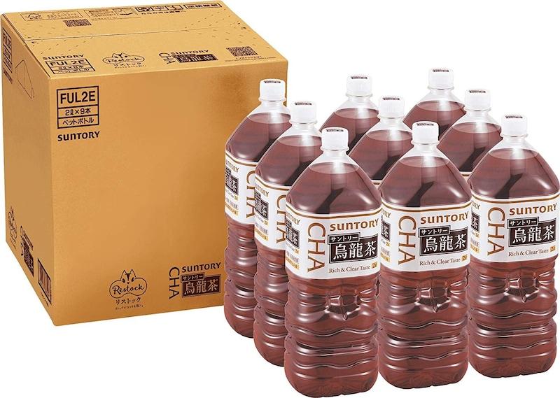 サントリー,Amazon限定ブランド   Restock サントリー烏龍茶 2L×9本
