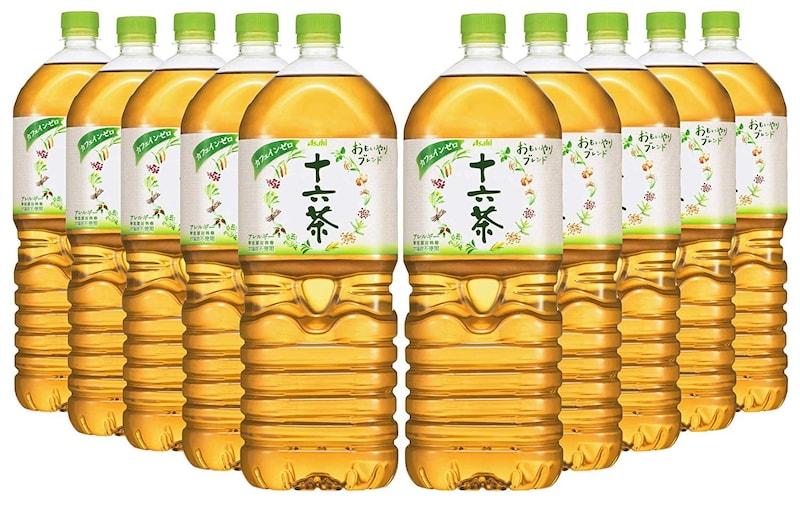 アサヒ飲料,Amazon.co.jp 限定  十六茶 2L×10本 デュアルオープンボックスタイプ