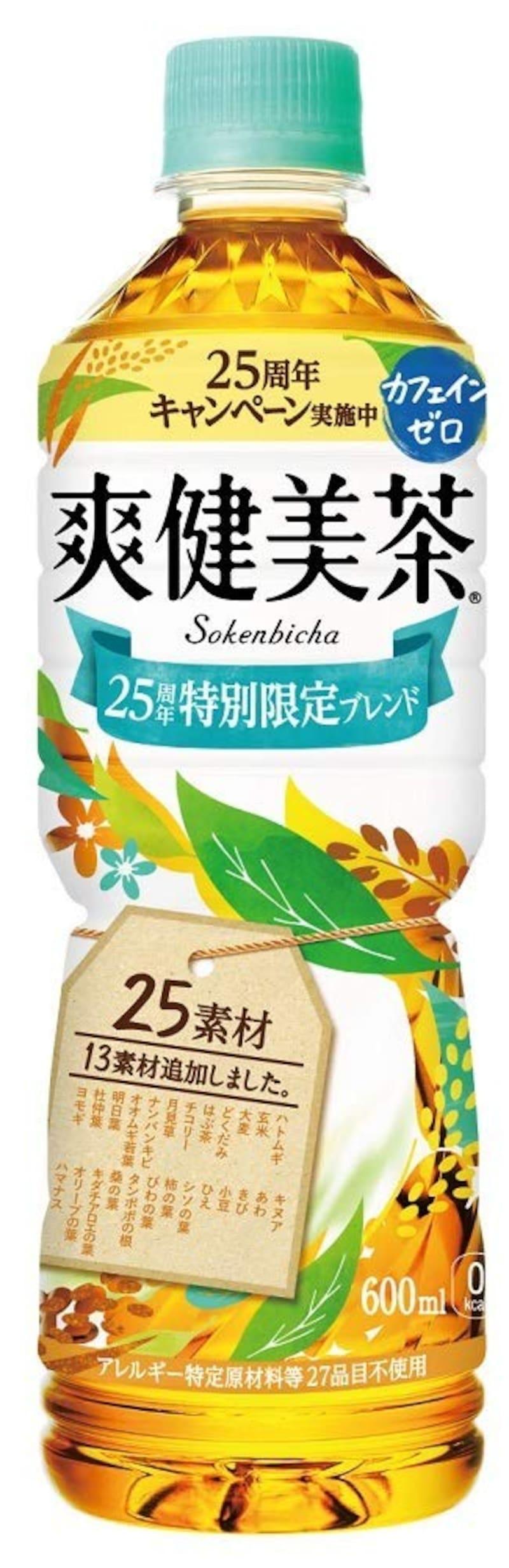 コカ・コーラ,爽健美茶 600mlPET×24本