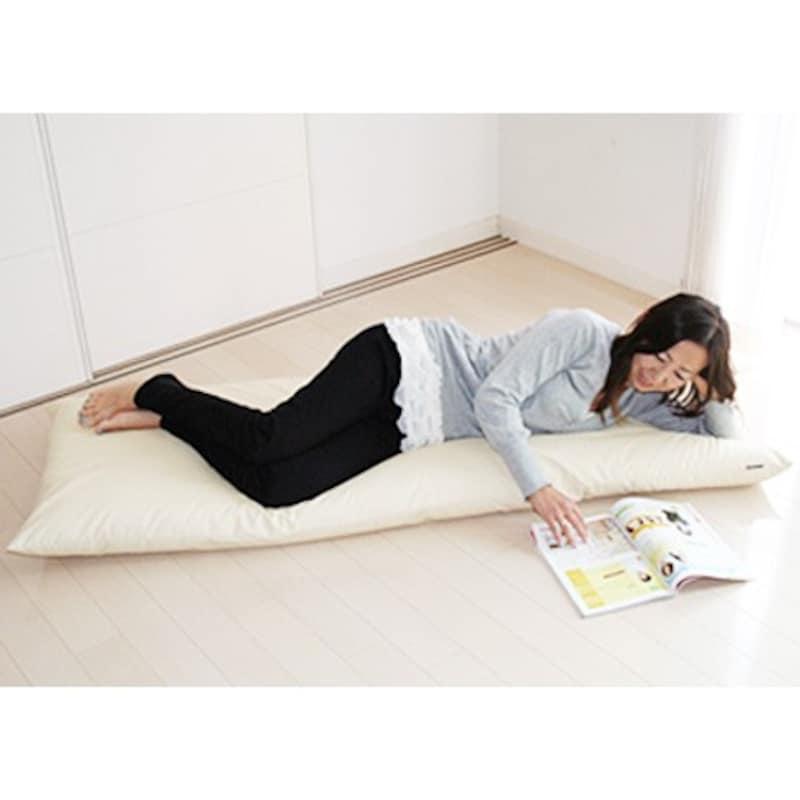 modern fabric,カバーリング式超長座布団