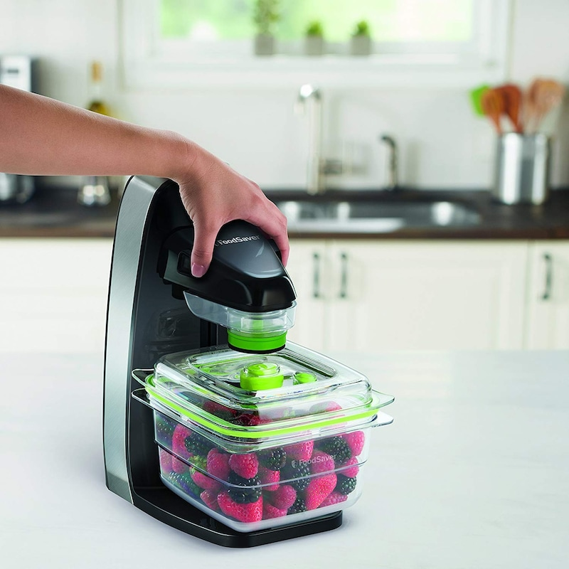 FoodSaver,真空パック容器 フレッシュボックス 5カップ ,FM1200BK/ZBS