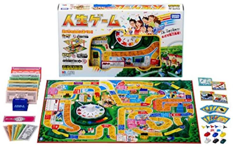 タカラトミー,人生ゲーム(2008年ver.)