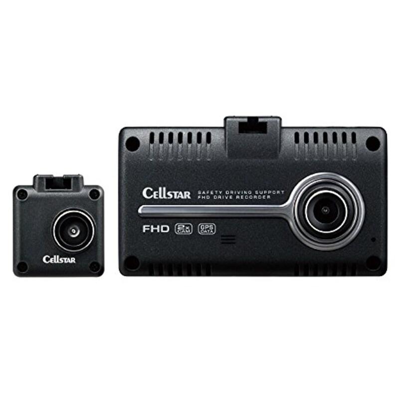 CELLSTAR(セルスター),前後2カメラドライブレコーダー,CSD-790FHG