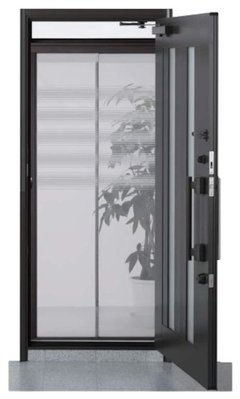 川口技研,ドア用網戸,NRA-2