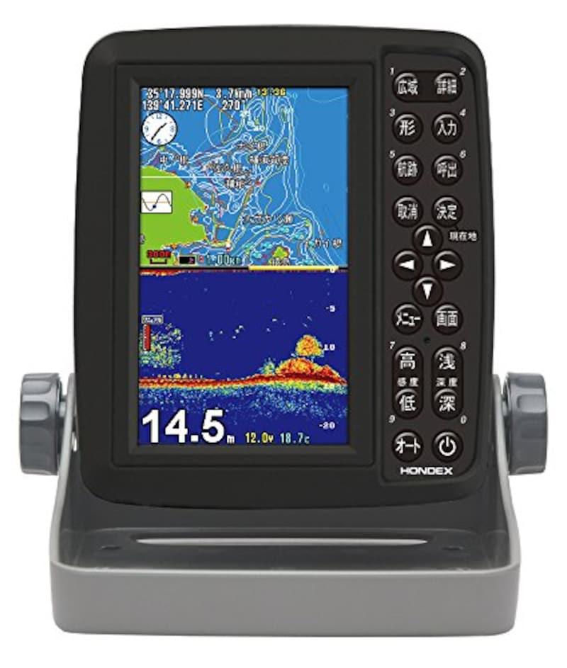 ホンデックス,ポータブルGPSプロッター,PS-611CN