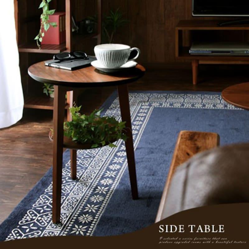 クライム,木製サイドテーブル