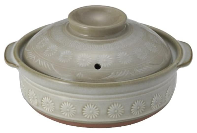 銀峯陶器,萬古焼 土鍋
