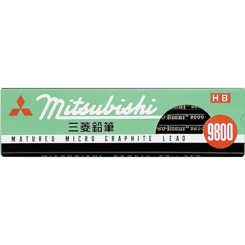 三菱鉛筆,鉛筆9800 1ダース,K9800HB
