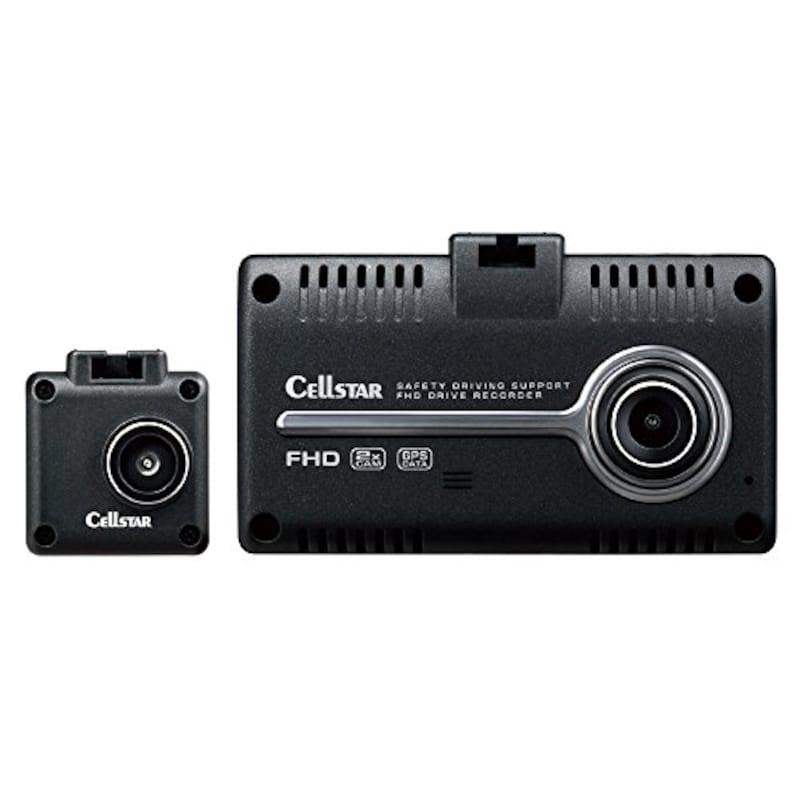 セルスター,前後2カメラドライブレコーダー,CSD-790FHG